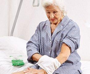 Waschlappen für ältere Frauen